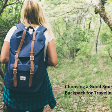 Choosing a Good Smell Proof Backpack for Traveling