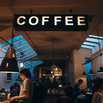 Manufacturing a coffee shop