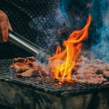 propane VS charcoal